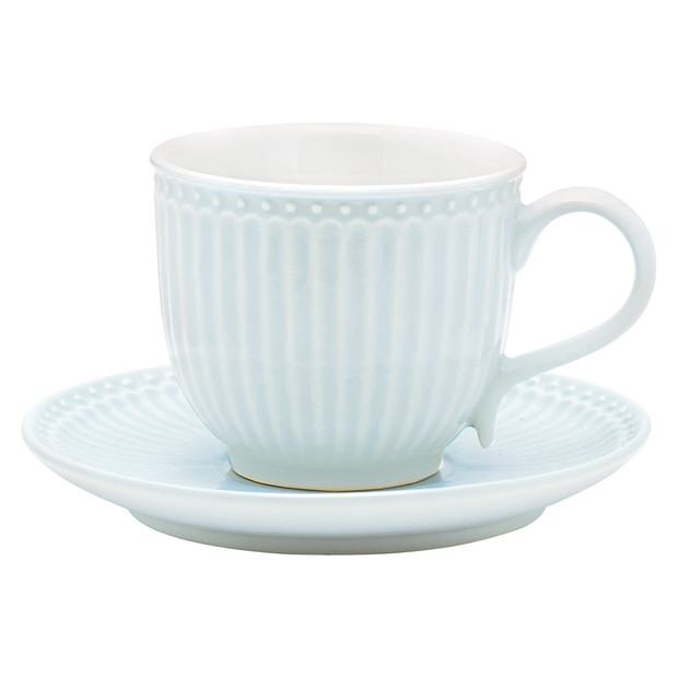 Greengate Alice blue cup & saucer