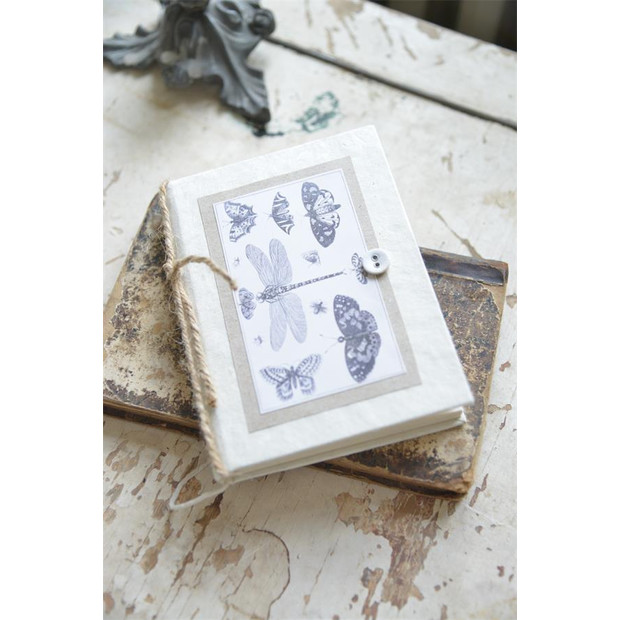 Jeanne d`arc living small note book Schmetterling