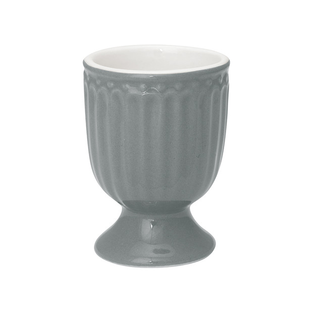 Greengate Alice stone grey egg cup