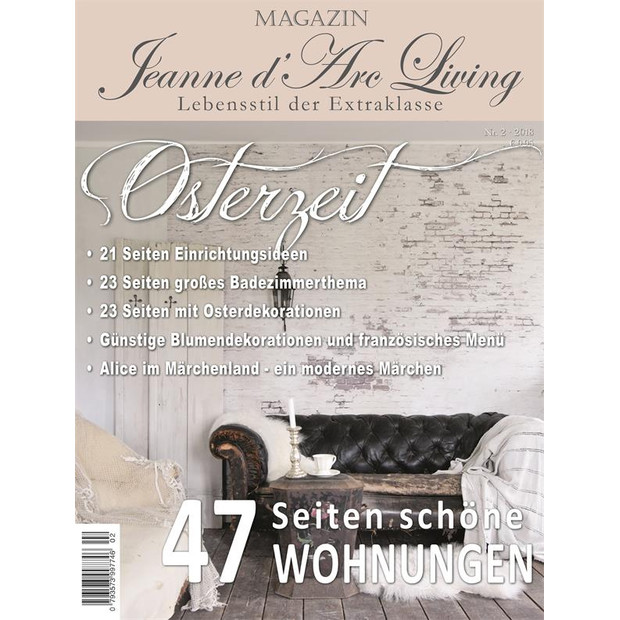 Jeanne d`arc living Magazin 02 2018