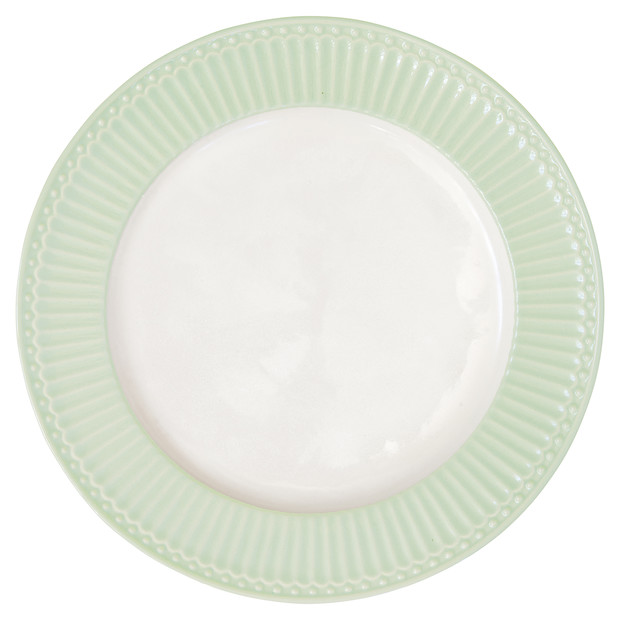 Greengate Alice green dinner  plate