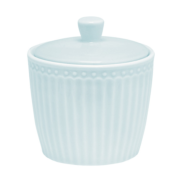 Greengate Alice blue sugar pot