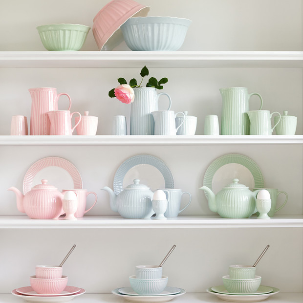 Greengate Alice pink bowl